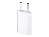 Apple 5W USB Power Adapter - Strömadapter - 5 Watt (USB) - Europa - för Apple iPad/iPhone/iPod MD813ZM/A