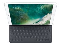 Apple Smart - Tangentbord och foliefodral - Apple Smart connector - Engelska - USA - för 10.2-inch iPad (7:e generation); 10.5-inch iPad Air (3:e generationen); 10.5-inch iPad Pro MPTL2LB/A